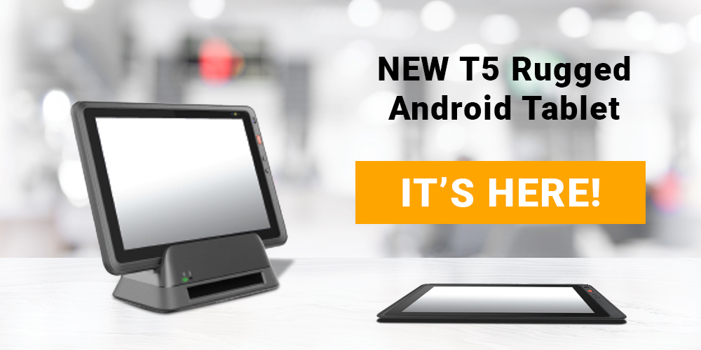 NEW T5 Rugged Android Tablet from Pioneer Solution Inc.